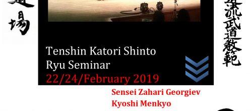 Katori Shinto Ryu seminar