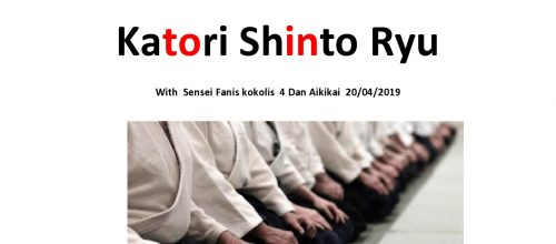 Aikido & Katori Seminar