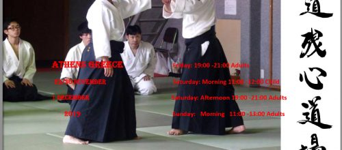 Aikido seminar with Sensei Suwa Masatoshi
