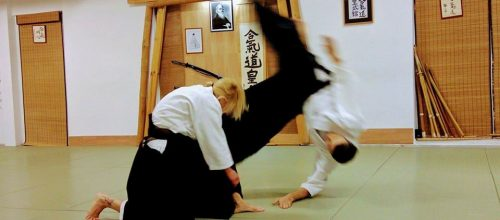 Woman Aikido