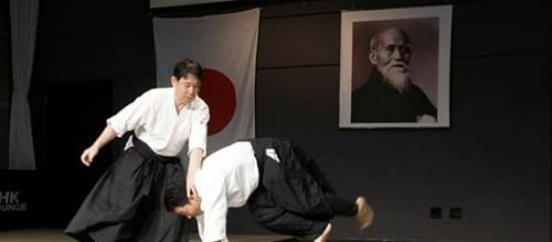 Aikido zanshin- Suwa dojo
