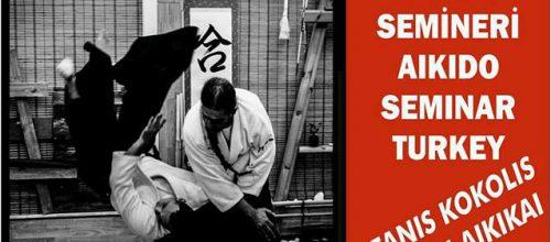 Σεμινάριο Aikido στην Τουρκία 3-4 Νοεμβρίου