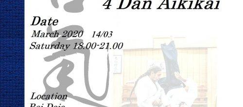 Aikido seminar with Sensei fanis kokolis 4 Dan Aikikai